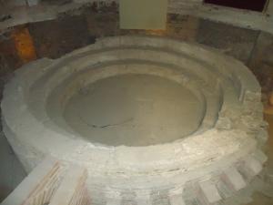 Laconicum dos balneários de Évora.
